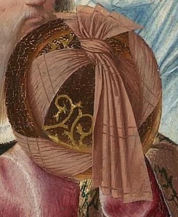 Geertgen tot Sint Jans, The Tree of Jesse, c. 1500. Detail